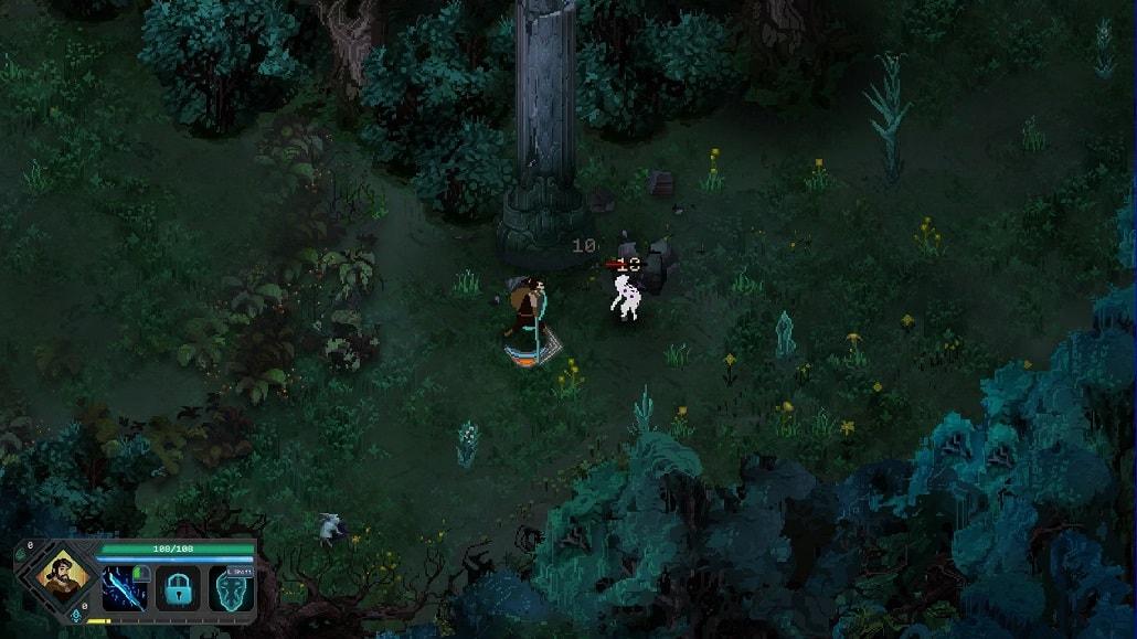 Gameplay w Children of Morta