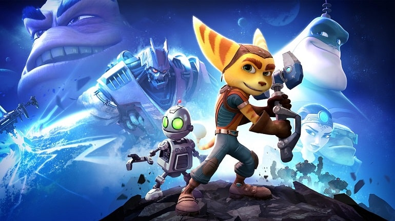 Ratchet and Clank - key art