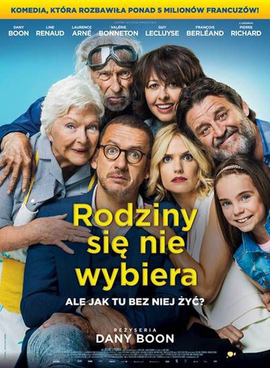 plakat filmu Rodziny się nie wybiera