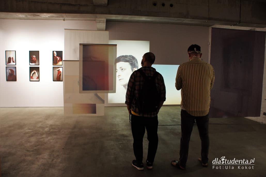 Oglądający wystawę