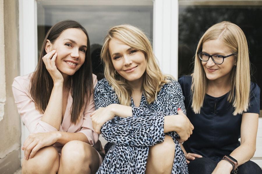 Olga Bołądź, Magdalena Lamparska, Jowita Radzińska