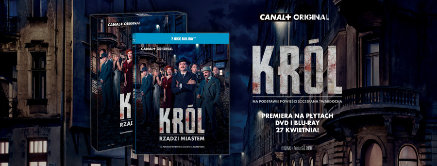 Król - serial DVD Blu-ray