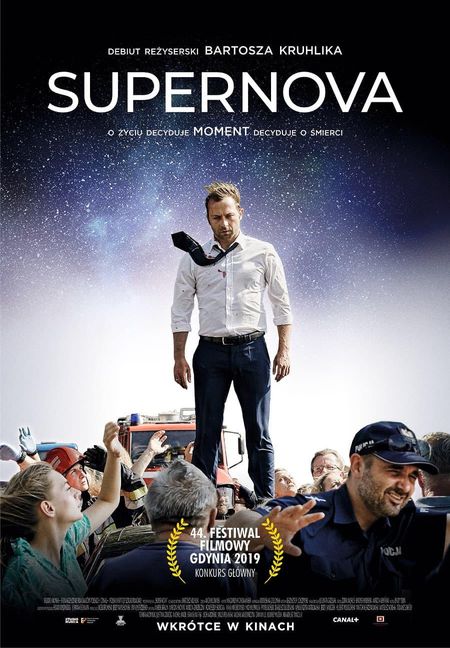 Supernova Krwista Opowieść Ma Już Plakat Premiera Filmu