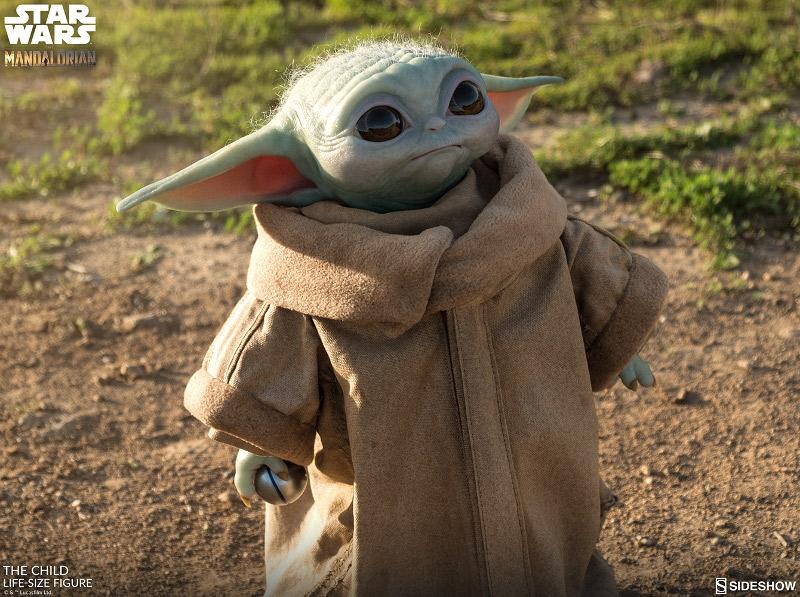 Baby Yoda figurka 1:1