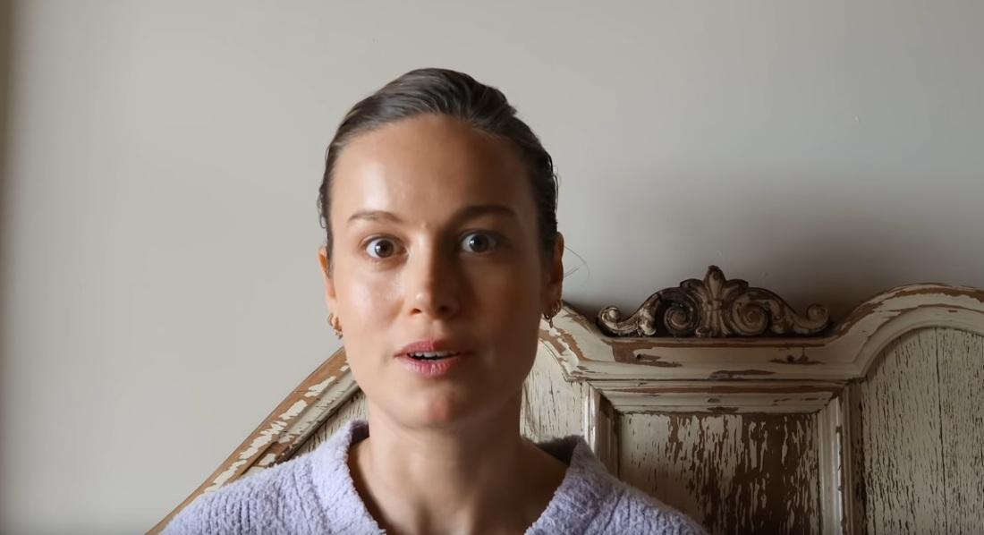 Brie Larson na Youtube