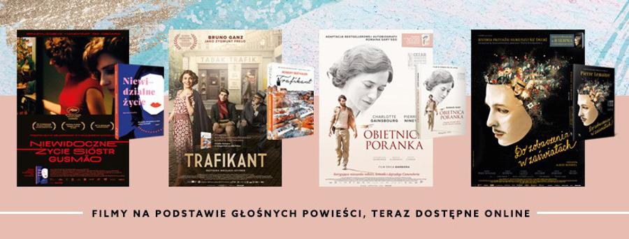 Ekranizacje książek na VOD