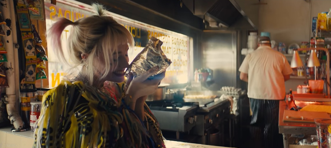 kanapka Harley Quinn