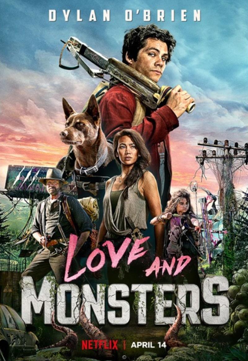 Miłość i potwory film 2021