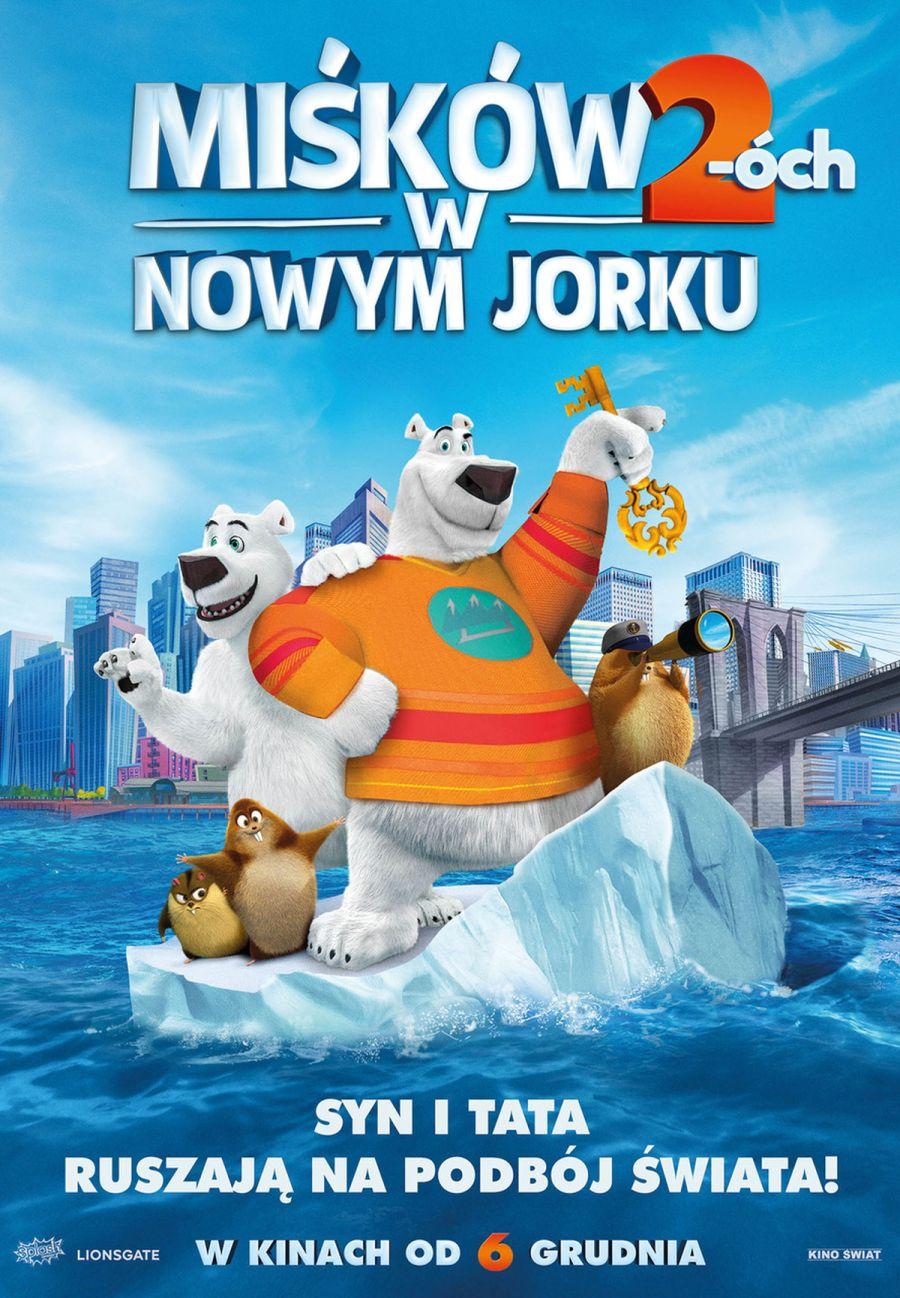 Oto Plakat Animacji Miśków 2 óch W Nowym Jorku Film