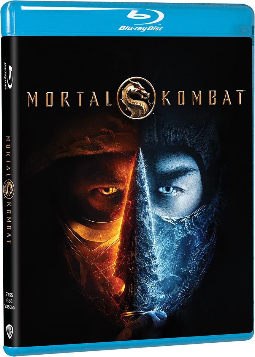 Mortal Kombat 2021 Blu-ray