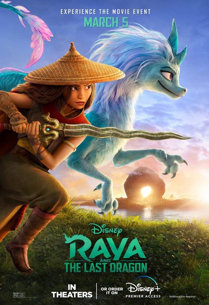 Raya i ostatni smok - plakat filmu