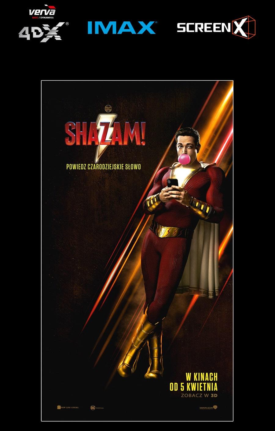 Shazam! w IMAX
