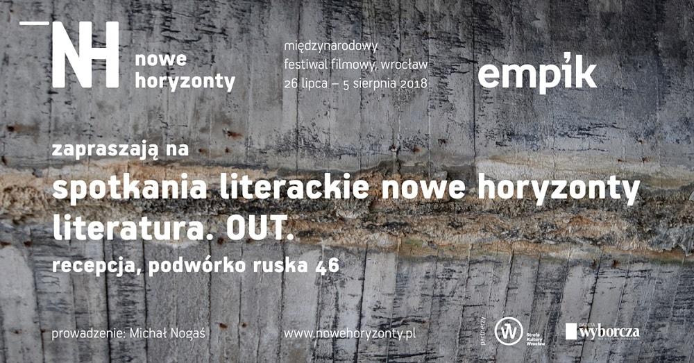 spotkania literackie 18. MFF Nowe Horyzonty
