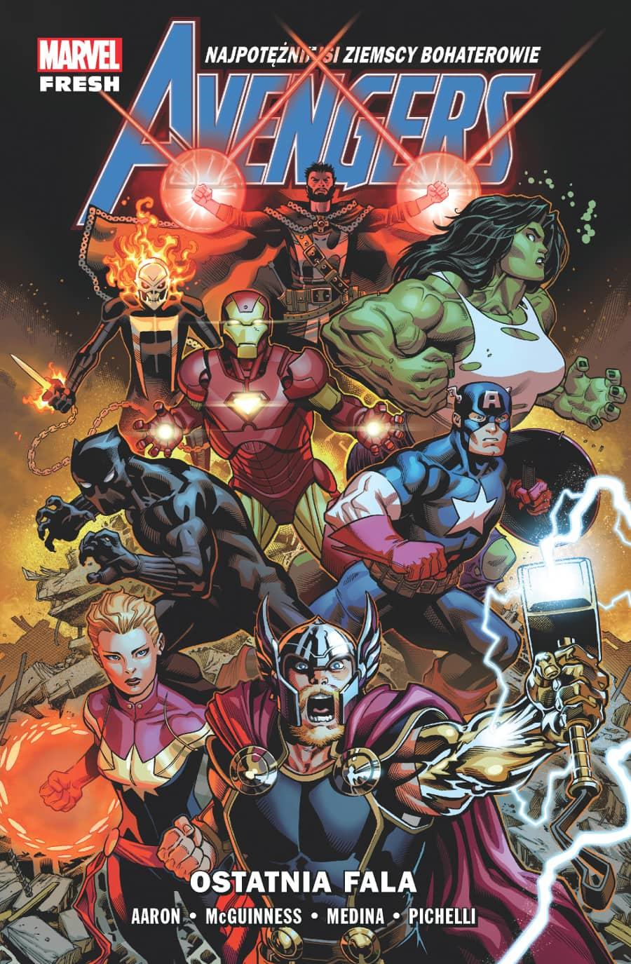 Marvel Fresh. Avengers - Ostatnia fala, tom 1