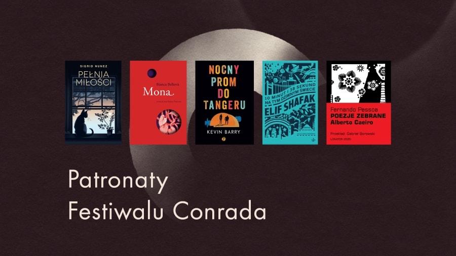 książki pod patronatem Festiwalu Conrada