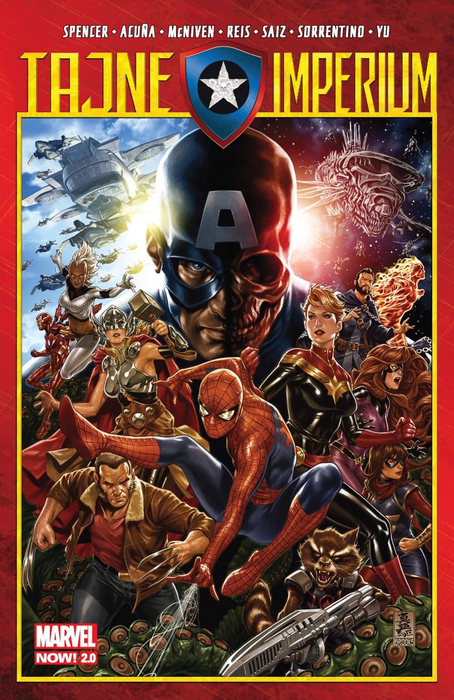 Marvel Now 2.0. Tajne imperium