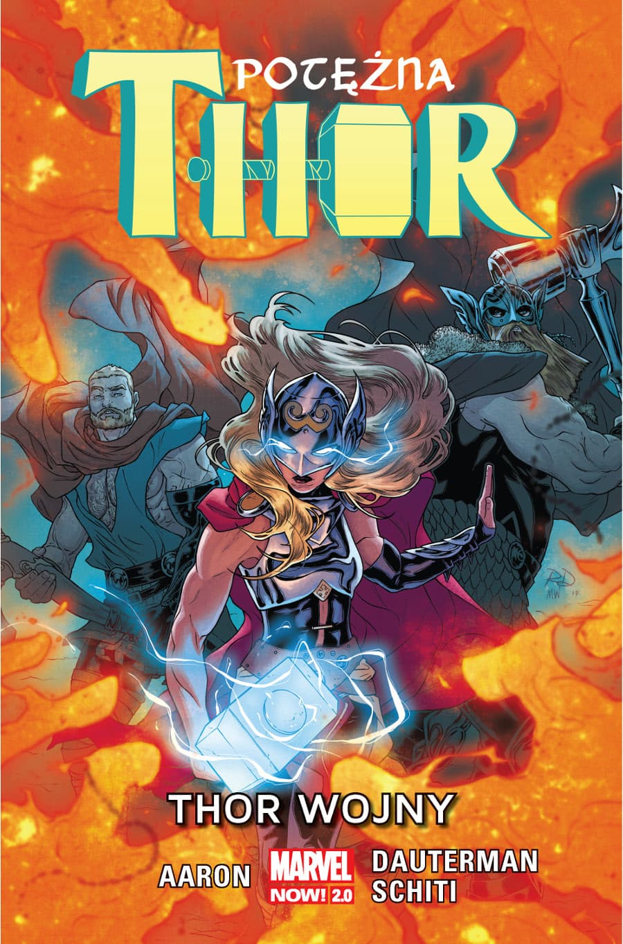 Marvel Now 2.0. Potężna Thor - Thor Wojny