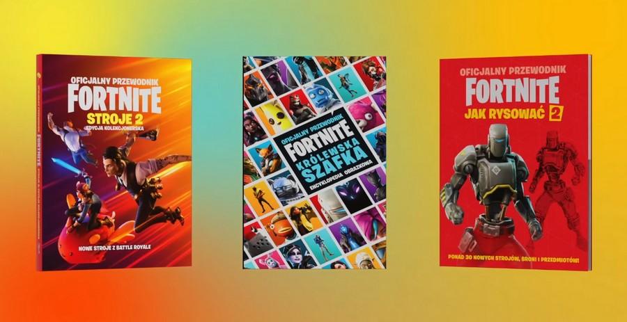 kolekcja oficjalnych książek Fortnite