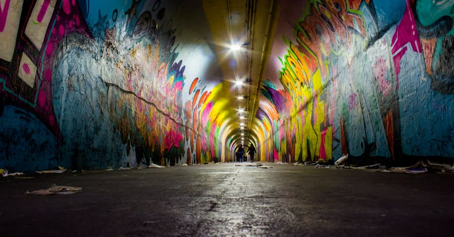 sztuka uliczna graffiti