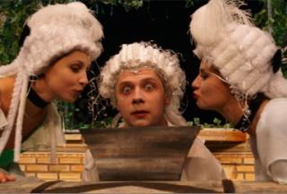 Mozart listy pisze