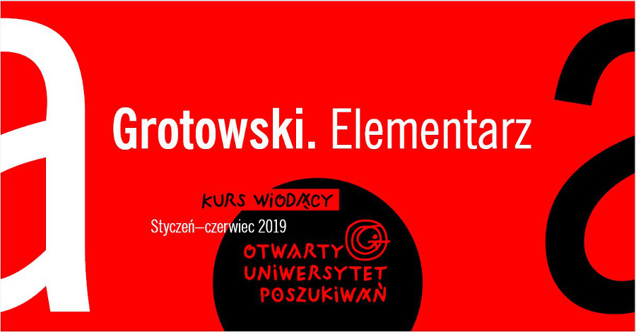 Grotowski. Elementarz