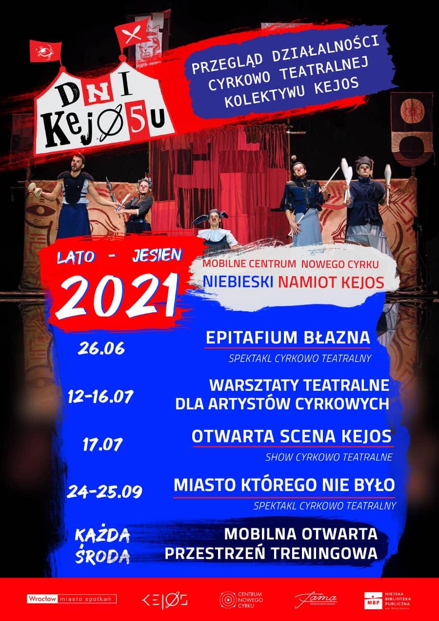 Dni Kejosu 2021 program