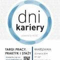 Targi pracy, praktyk i staży ponownie w Warszawie