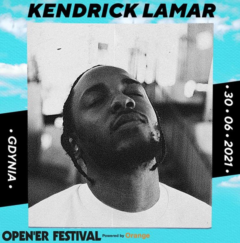 Kendrick Lamar headlinerem Open'era 2021