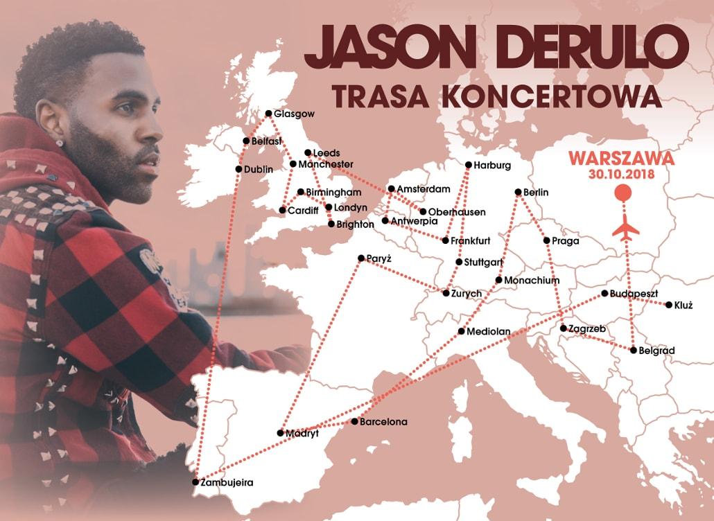 Jason Derulo przyjedzie do Polski w październiku - koncert