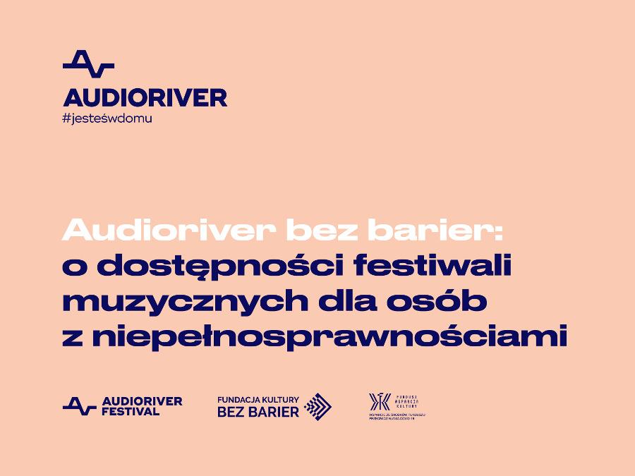 Audioriver bez barier
