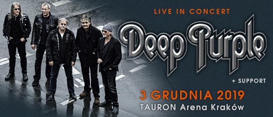 Deep Purple w Krakowie