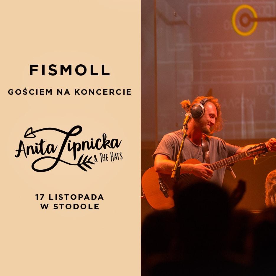 Fismoll kolejnym gościem specjalnym Anity Lipnickiej & The Hats w Stodole