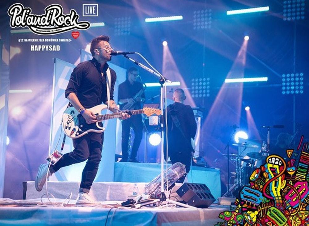 happysad na Pol'and'Rock Festival