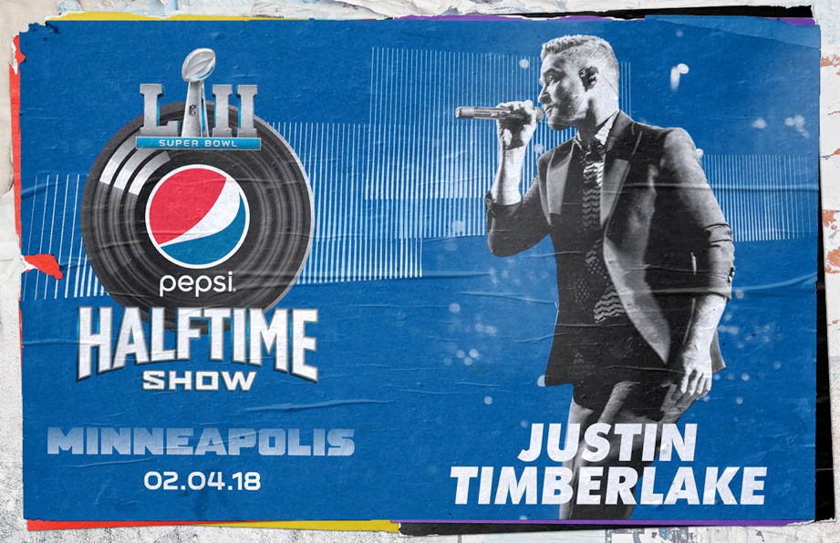 Justin Timberlake gwiazdą Super Bowl 2018!