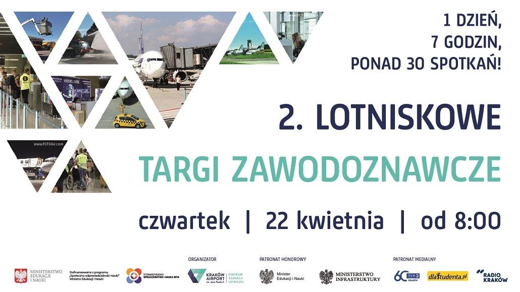 plakat 2. Lotniskowe Targi Zawodoznawcze