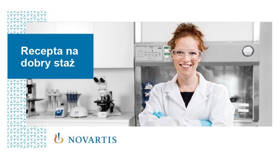 program stażowy Novartis