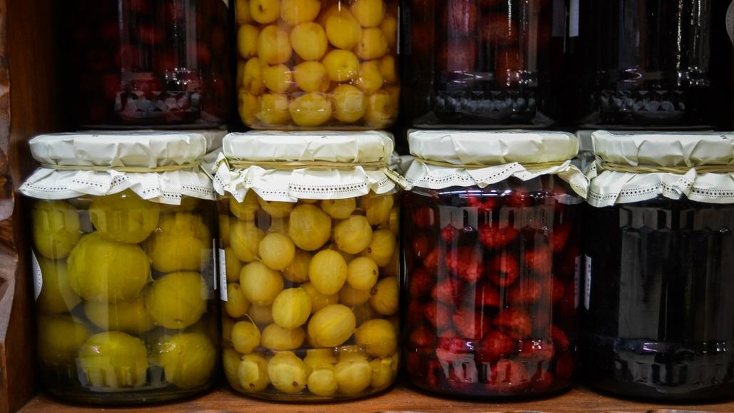 przetwory owocowe i warzywne