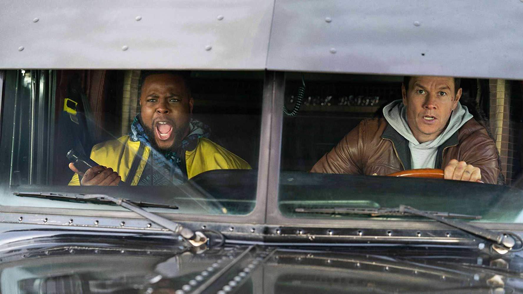Spenser i Hawk jadą ciężarówką