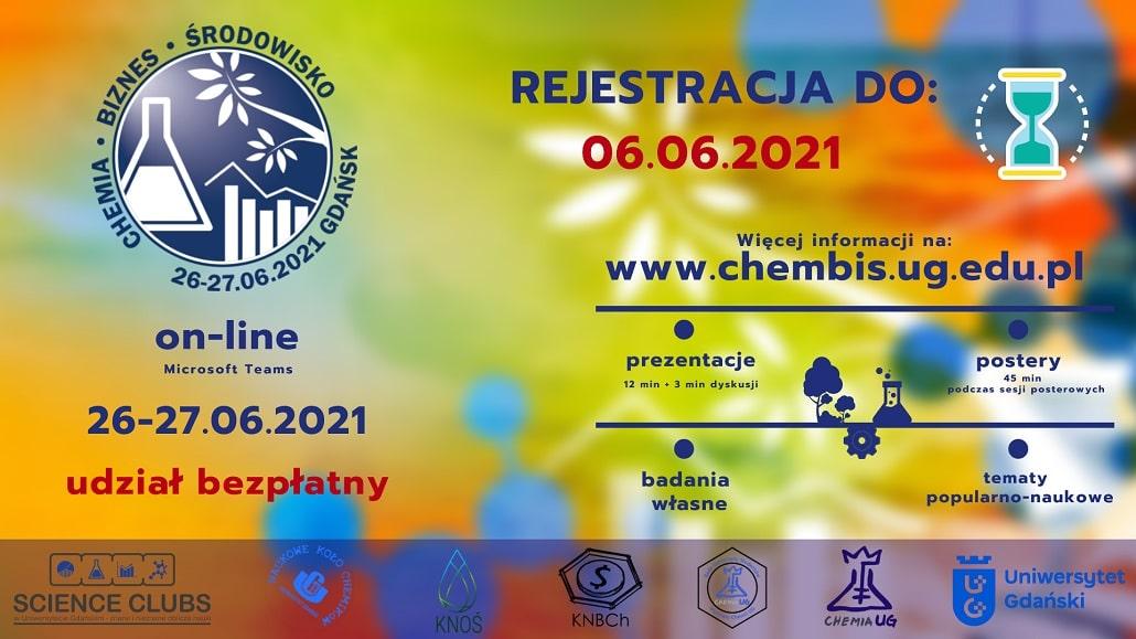 """III Ogólnopolską Konferencję Chemia-Biznes-Środowisko """"ChemBiŚ"""""""