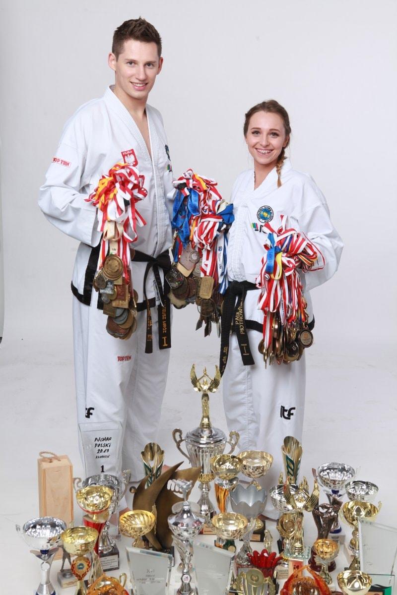 Mateusz Mróz i Paula Piotrowska