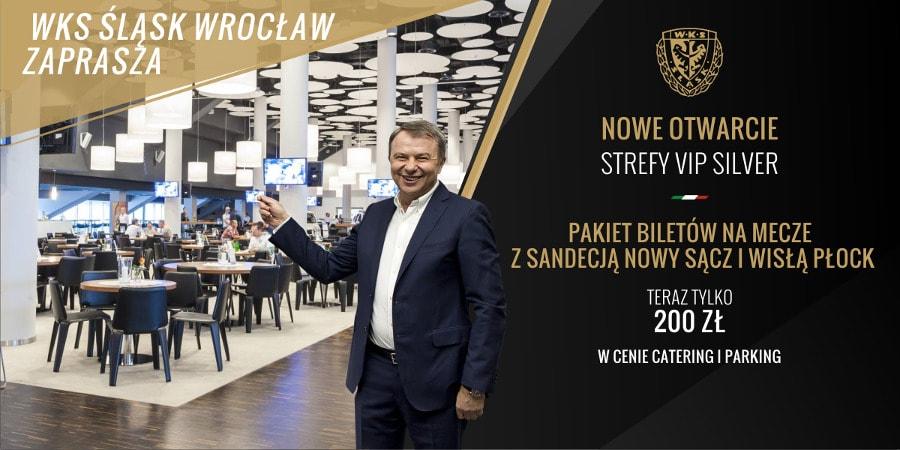 Strefa VIP Śląsk Wrocław