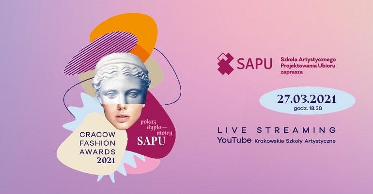 Cracow Fashion Awards 2021 - plakat baner