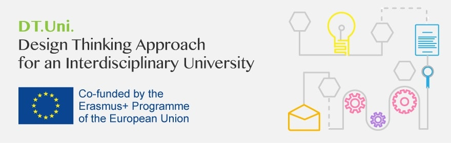 DT.Uni: Design Thinking Approach for an Interdyscyplinary University 2020 baner
