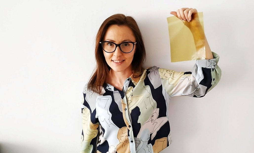 Dr Ewelina Jamróz z Uniwersytut Rolniczego zdjęcie