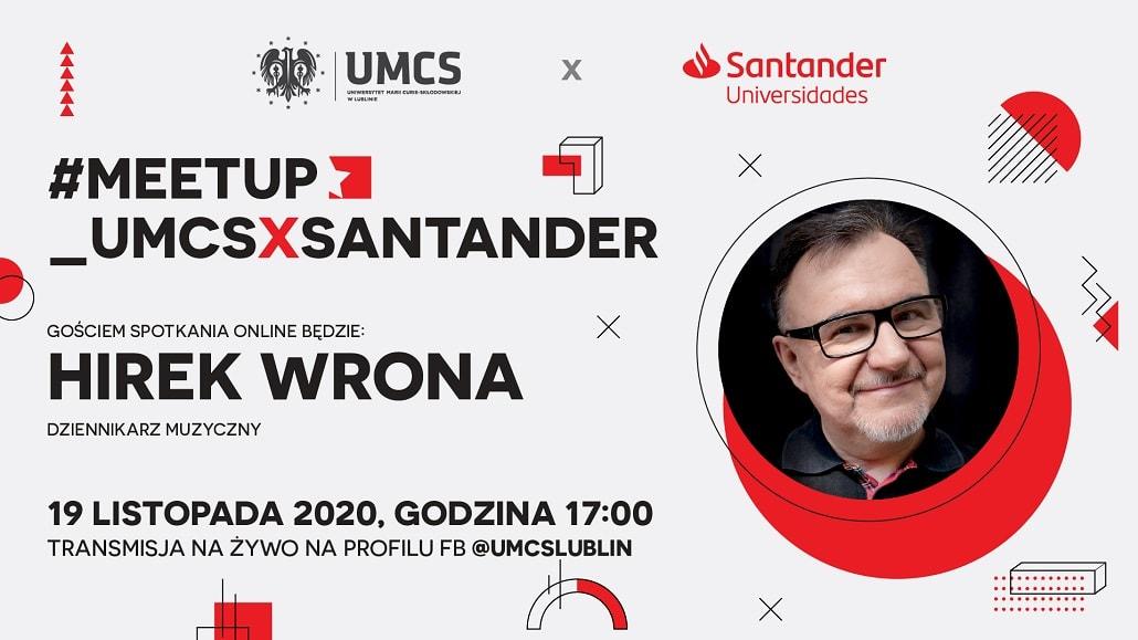 #meetup_UMCSxSantander 2020 - hirek Wrona