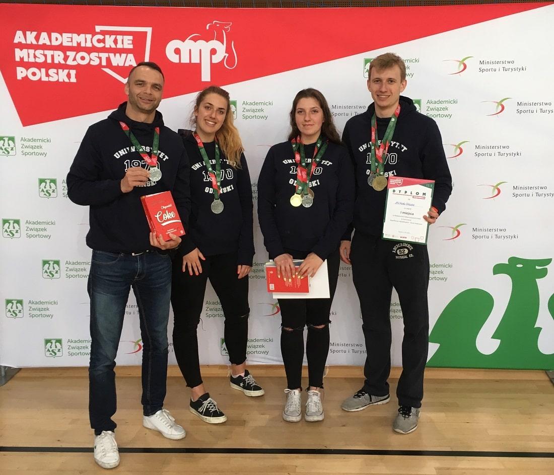 Szermierze UG medale 2019
