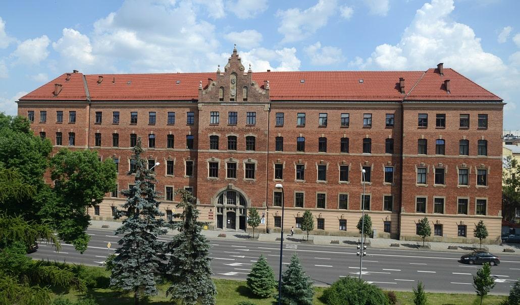 Uniwersytet Rolniczy w Krakowie, Budynek
