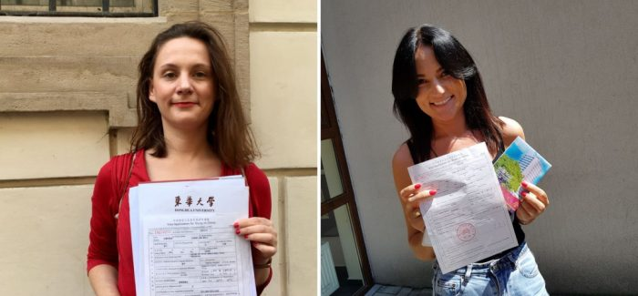Anna Nowak-Curyło i Anna Maria Zgygmunt z SAPU