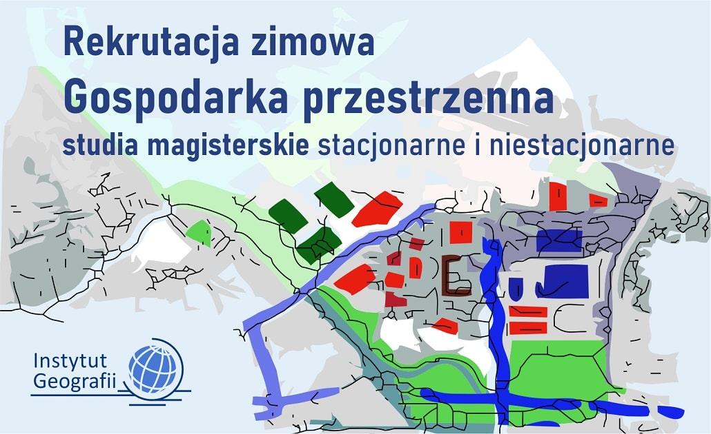 Informacja o rekrutacji śródrocznej w UP w Krakowie - geografia