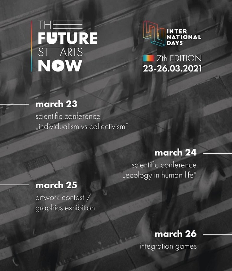 The future starts now 2021 - plakat